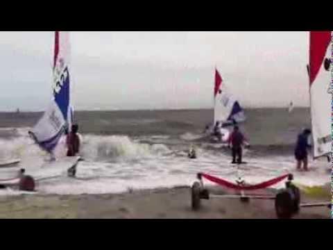 2013 Sunfish Worlds Race Day 2