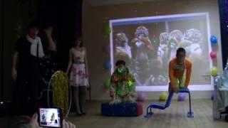 """Школьное шоу """"Точь в точь"""" Боярский-И Тигры у ног моих сели"""