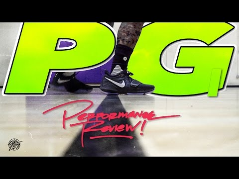 Nike PG 1 Performance Review! (Paul George)