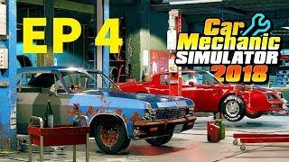 JE RENOVE UN MOTEUR V8 ! CAR MECHANIC SIMULATOR 2018 EP 4