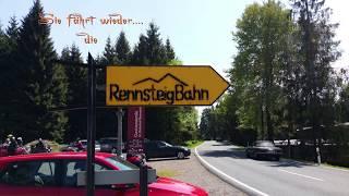 Der Bahnhof Rennsteig
