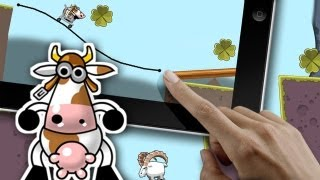 Cart Cow - Hilarious drawing+physics action for iPhone, iPad and Mac