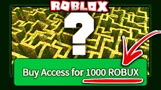 BUYING THE MOST EXPENSIVE ROBLOX GAME
