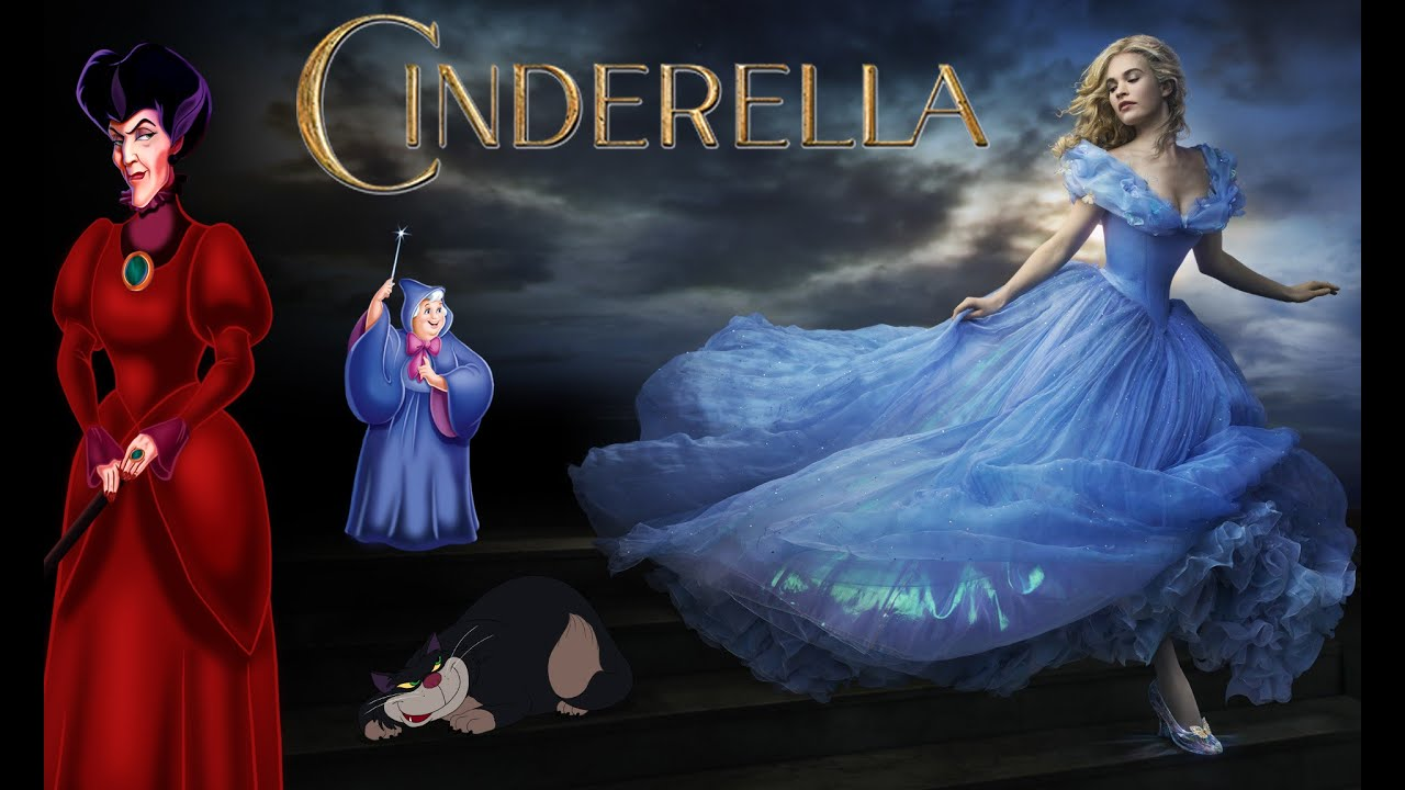 This is a picture of Modest A Picture of Cinderella