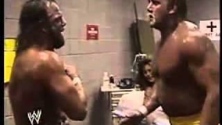 Randy Savage turns on Hulk Hogan