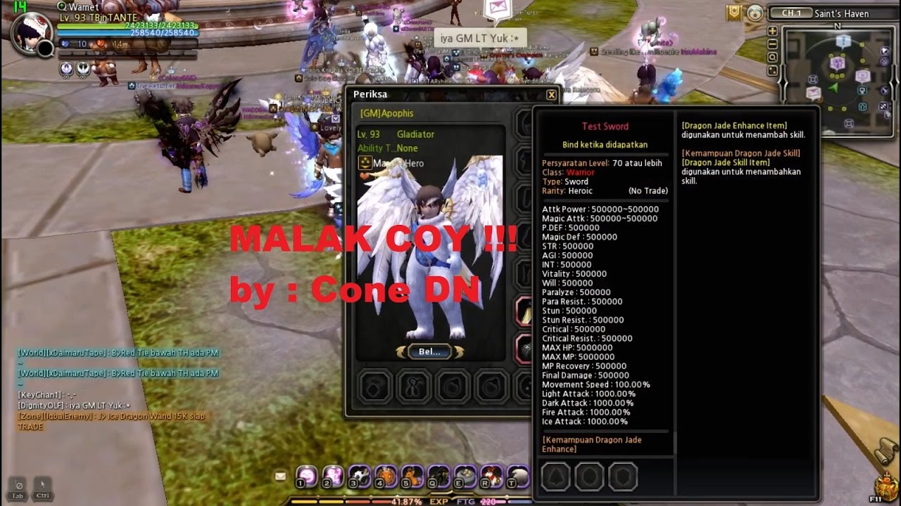 Dragon Nest Ina Gemscool 500000