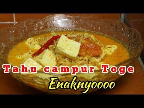 tutorial-masakan-sederhana-santan-tahu-toge-#reseptahu-#makanan
