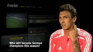 Bayern Munich Player Forecast: Mario Mandzukic talks to bwin about Bayern