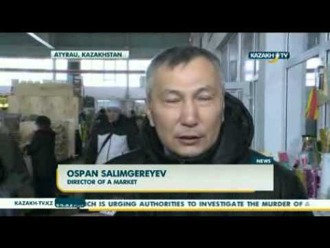 Food prices maintained in Atyrau