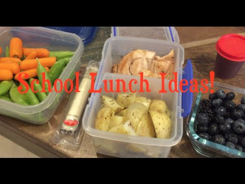 Breakfasts For Lunch | School Lunch Ideas