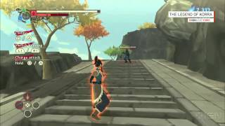 Legend of Korra Gameplay Comic-Con