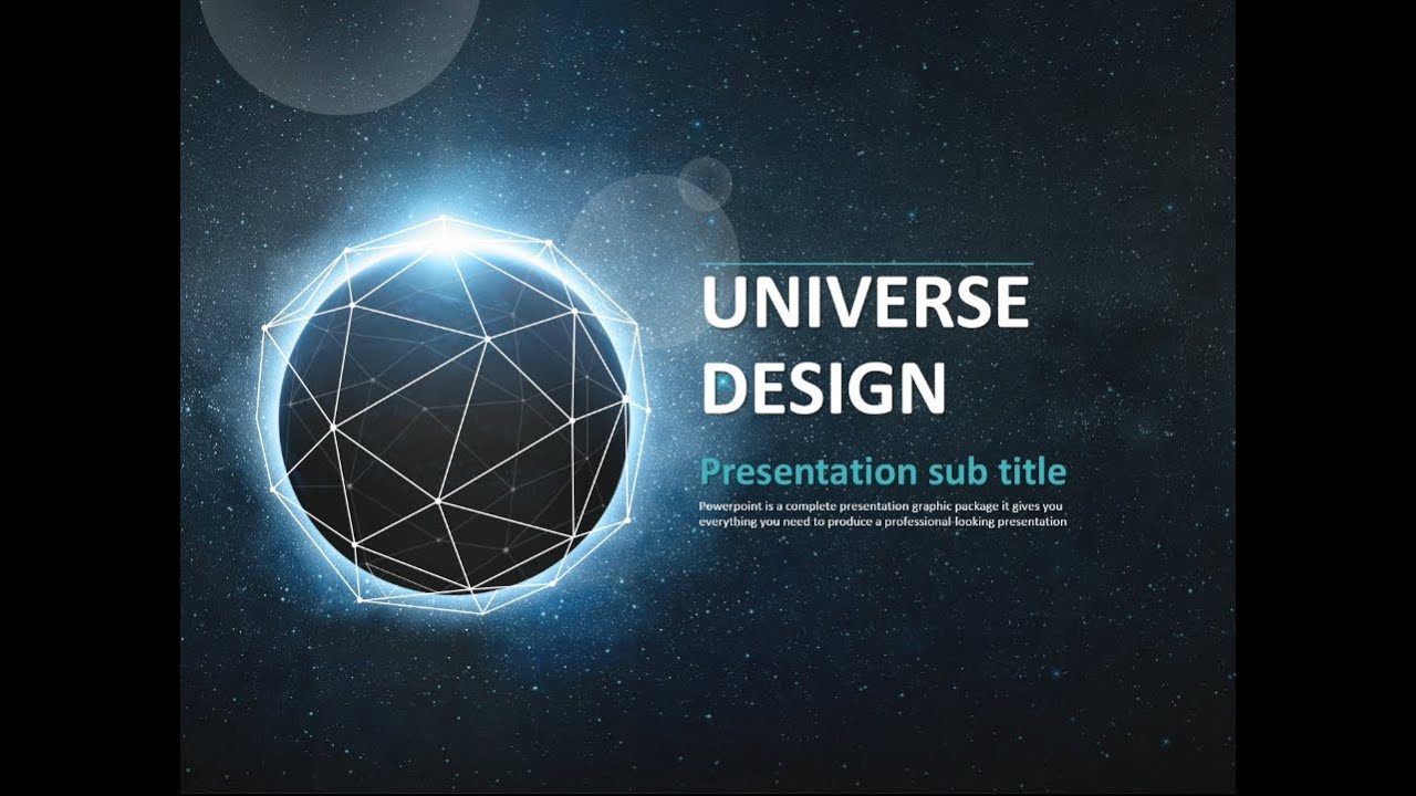 Universe Animated Ppt  Youtube