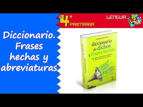 lengua-castellana.-4º-primaria.-tema-1.-el-diccionario.-frases-hechas-y-abreviaturas