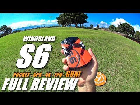 WINGSLAND S6 - Full Review - [UnBoxing, Inspection, Setup, F