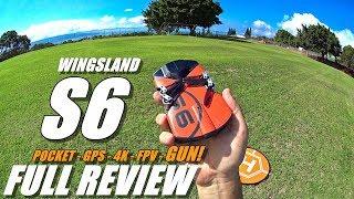 WINGSLAND S6 - Full Review - [UnBoxing, Inspection, Setup, Flight Test, Gun/Light Test, Pros & Cons]