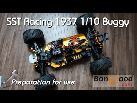 • SST Racing - 1937 1/10 buggy -  Preparation for use •