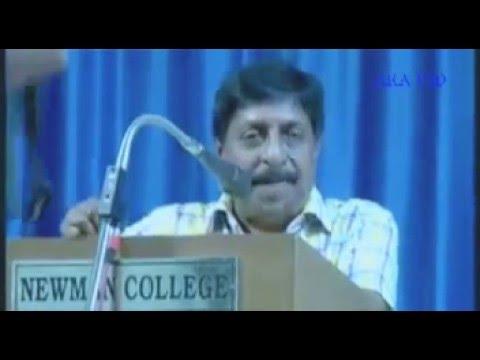 """Actor Sreenivasan""""s speech about chicken"""