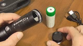 """Аккумуляторные фонари LED LENSER """"MH10"""" и """"MT14"""""""