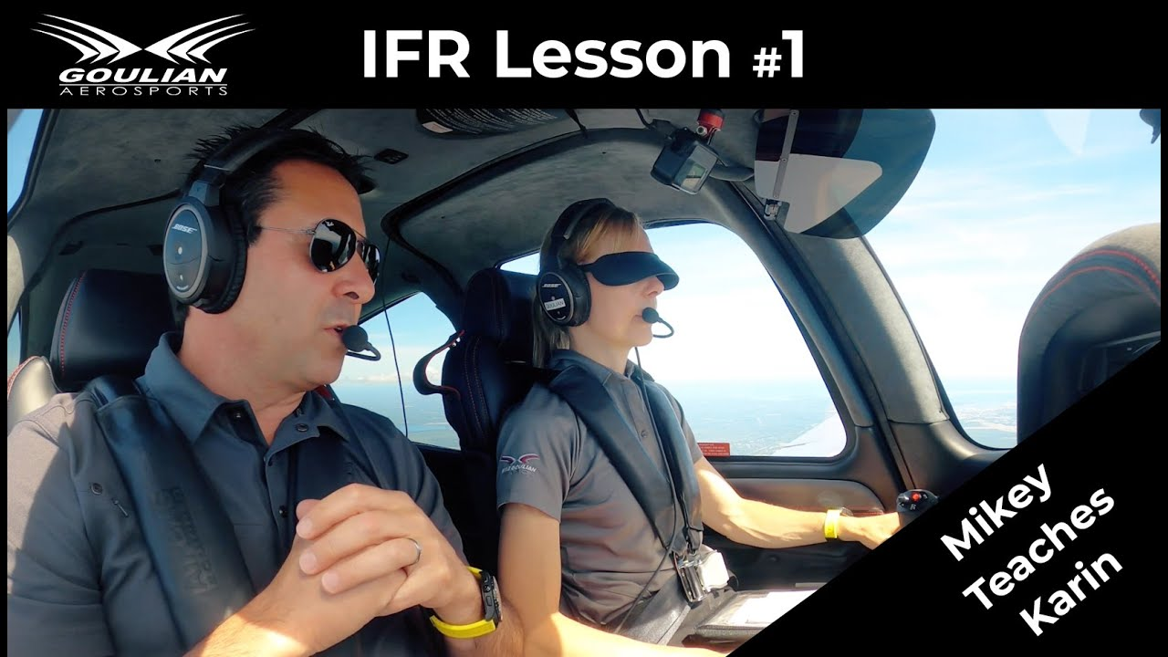 Download Michael teaching Karin IFR lesson #1 (Attitude Instrument Flying)