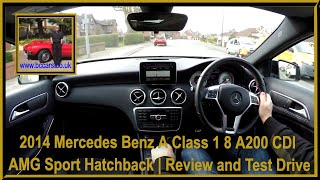 Virtual Video Test Drive In Our Mercedes Benz A Class 1 8 A200 CDI AMG Sport Hatchback
