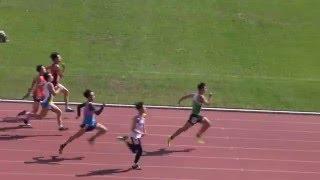 20160205順德聯誼總會六中陸運會男甲100米