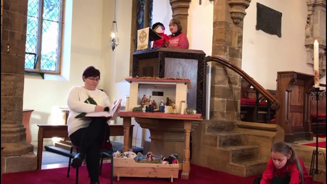 A simple Christmas service for all to enjoy