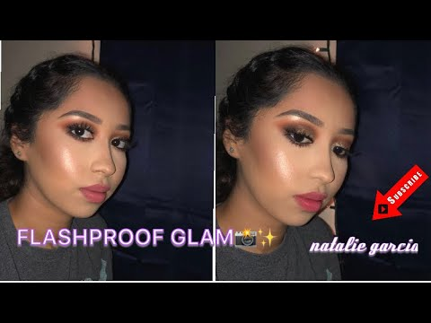 FLASHPROOF GO TO GLAM- NIGHT OUT MAKEUP TUTORIAL | NATALIE GARCIA thumbnail