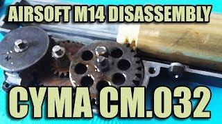 Cyma M14 Disassembly
