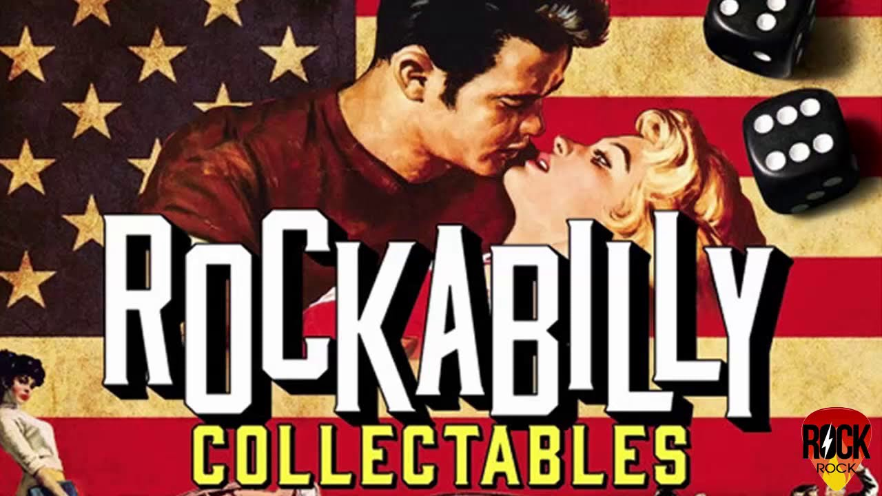 Best Rockabilly Rock And Roll Songs Collection - Top Classic Rock N Roll Music Of All Time