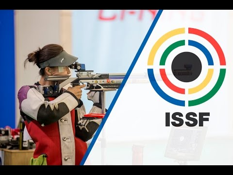 Finals 10m Air Rifle Women - ISSF World Cup in all events 2014, Beijing (CHN)