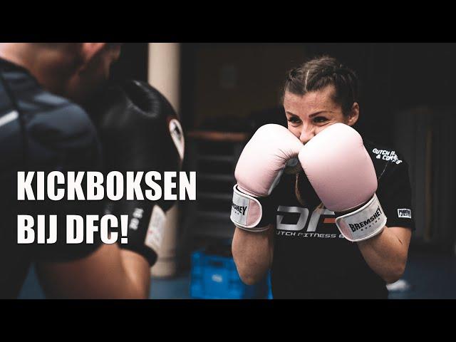 Leren kickboksen in Ridderkerk? DFC has your back!