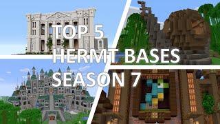 Top 5 Hermit Bases (Hermitcraft season 7)