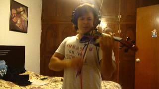 Mägo de Oz La Cruz de Santiago Violin Cover (Finisterra Opera Rock)