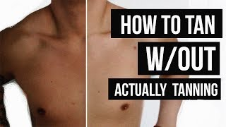 One of JairWoo's most viewed videos: HOW TO GET SUPER TAN (WITHOUT ACTUALLY TANNING) | JAIRWOO