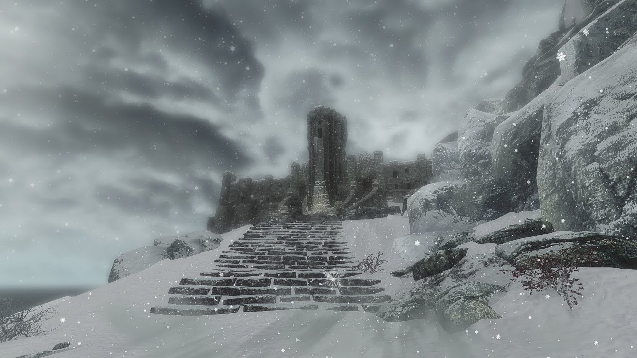 Skyrim Winter Overhaul Playthrough #10: High Hrothgar to Whiterun