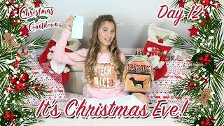 CHRISTMAS COUNTDOWN - *DAY 12* - (it's Christmas Eve! last minute xmas shopping) | Rosie McClelland