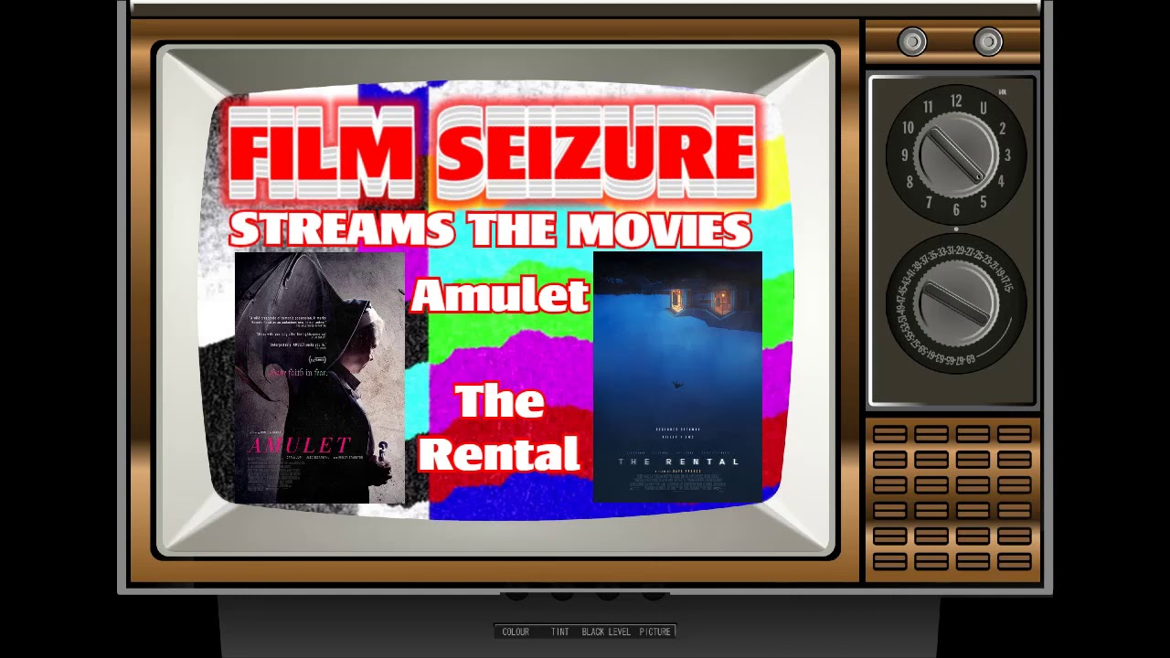 Film Seizure Streams the Movies - Amulet (2020) and The Rental (2020)