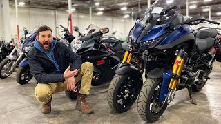 Why I Paid $12,500 for this STUPID Looking Motorcycle at the Motorcycle Auction