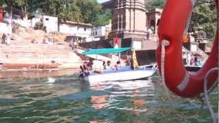 shammy amga botting in ma narma river maheshwar