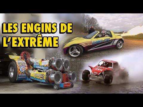 Enquête : les engins de l'extrême (Buggy, Dragster, 4x4, Jetpack...)