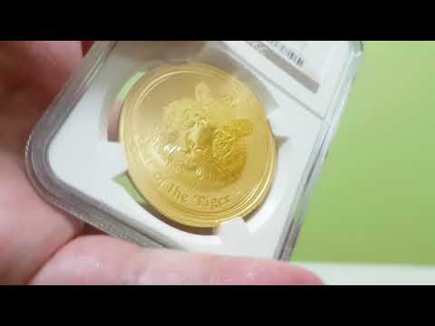 Australian Gold perth mint australia lunar year of the TIGER 2010 bullion coin HOT!!!!