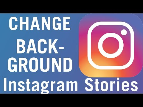 How To Add Background Color To Instagram Stories