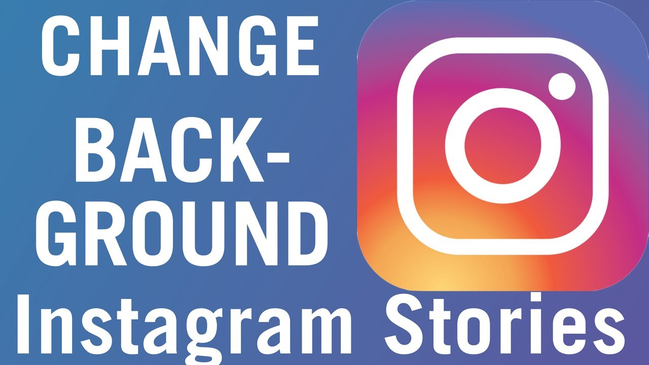 How to add background color to instagram stories youtube how to add background color to instagram stories ccuart Images