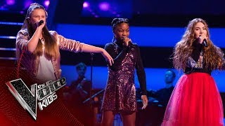 Zena, Miriam, Jess F - 'Little Me': Battles | The Voice Kids UK 2017