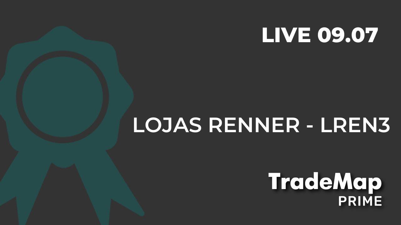 TradeMap Prime - Analisando Lojas Renner com a Inside