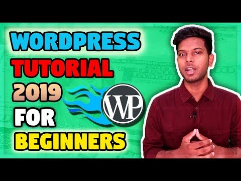 WordPress Step By Step Bangla Tutorial For Beginners 2019 - WordPress Pages & Post thumbnail