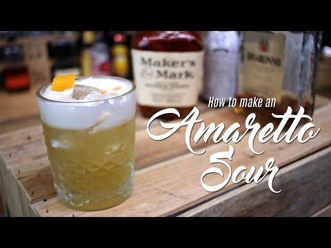 Amaretto Sour Cocktail Recipe - Jeffrey Morgenthaler's Method