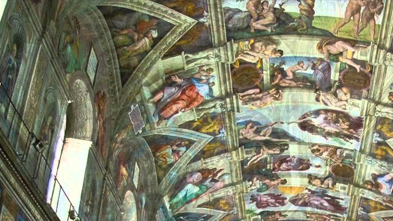 22 Michelangelo Buonarotti Deckenfresko Sixtinische Kapelle