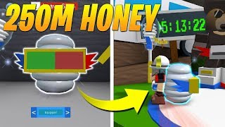 BUYING *PORCELAIN PORT-O-HIVE* IN BEE SWARM SIMULATOR! *250M HONEY* (Roblox)