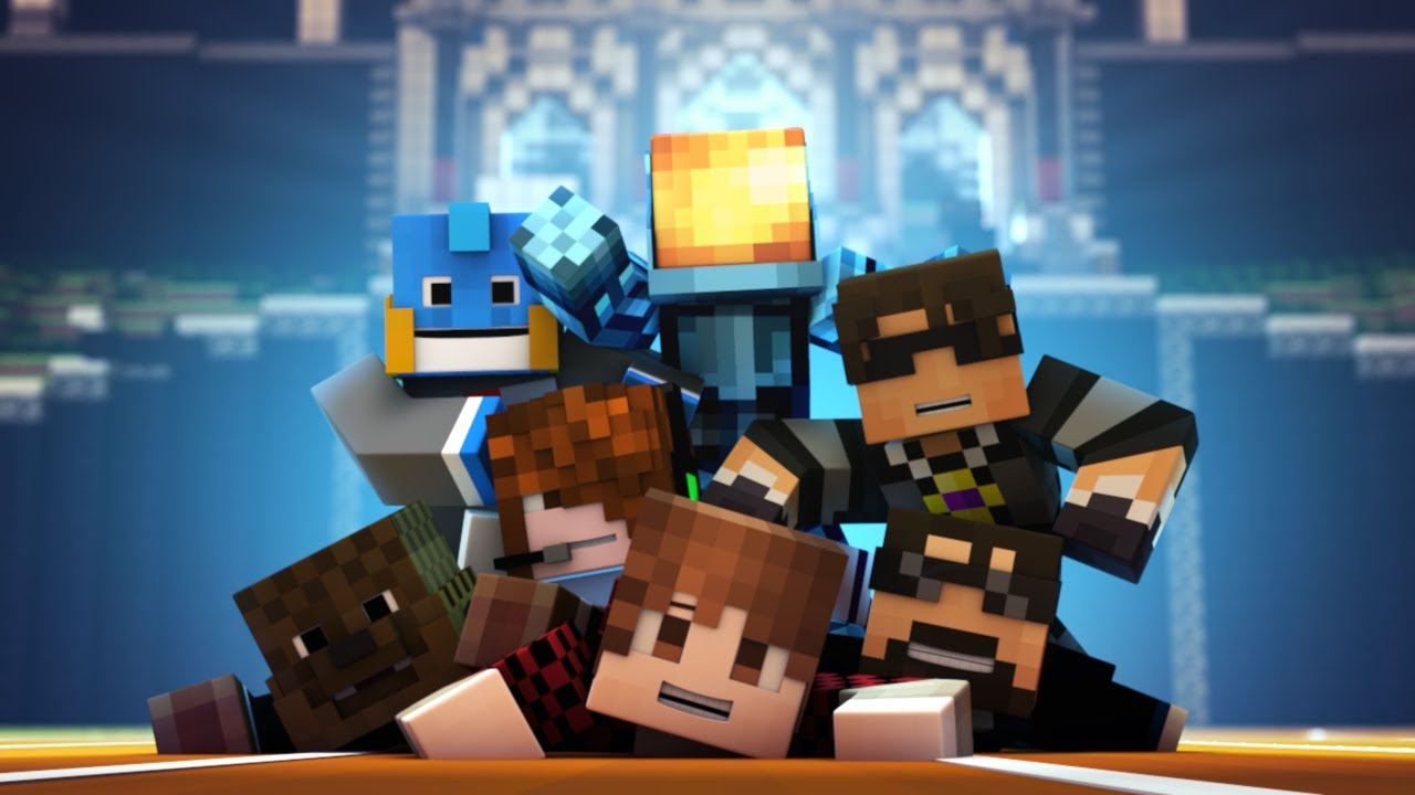 Minecraft Animation : TEAM CRAFTED IS HERE! - YouTube